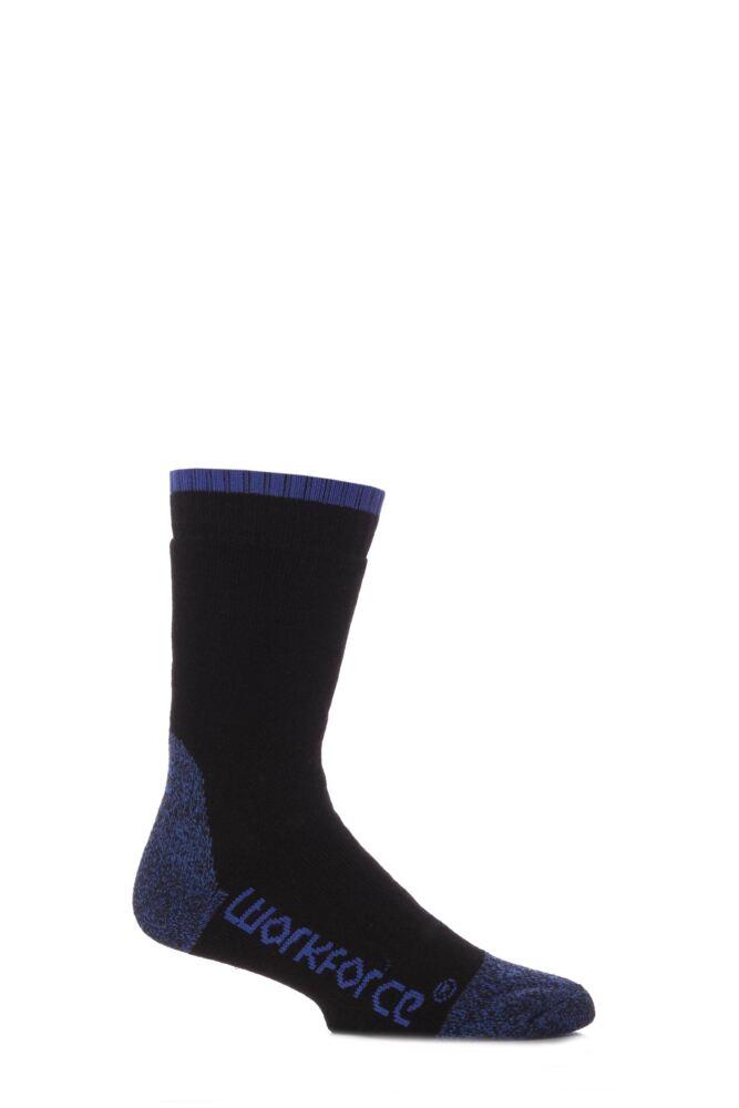 Mens 1 Pair Workforce Steel Safety Socks