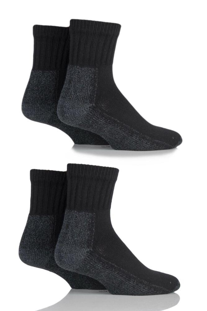 Mens and Ladies 4 Pair Workforce Safety Trainer Socks