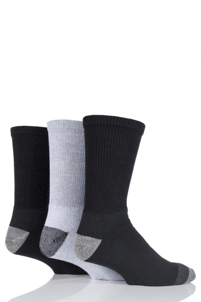 Mens 3 Pair Workforce Work Wear Socks