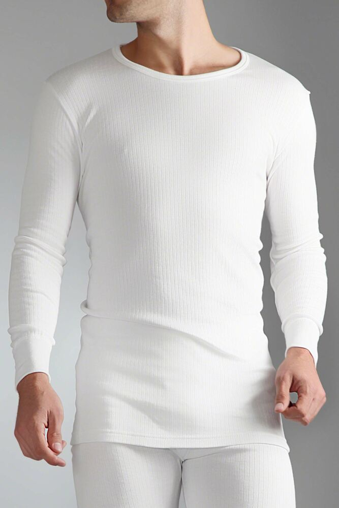 Mens SockShop Heat Holders Long Sleeved Thermal Vest