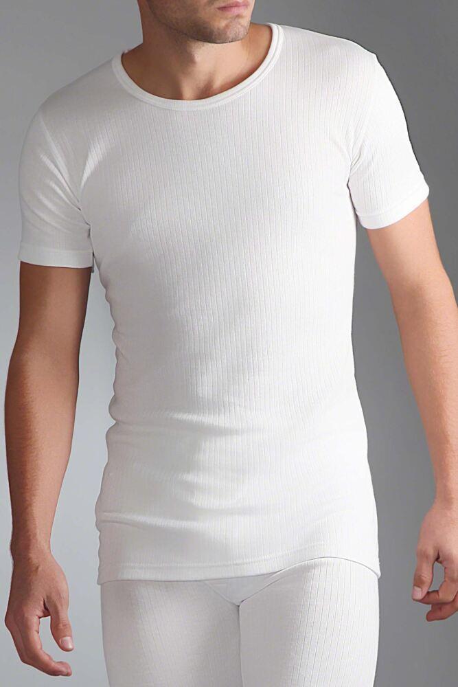 Mens SockShop Heat Holders Short Sleeved Thermal Vest