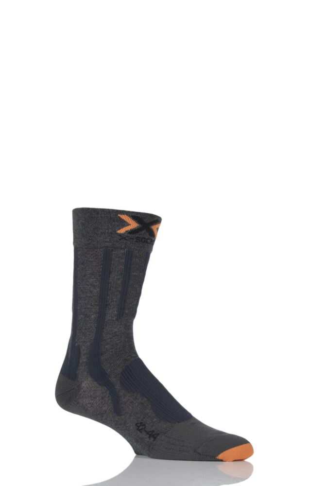 Mens 1 Pair X-Socks Lightweight Trekking Socks