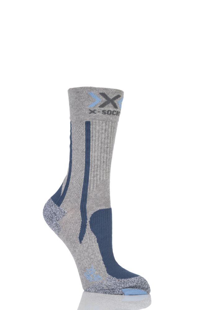 Ladies 1 Pair X-Socks Lightweight Trekking Socks
