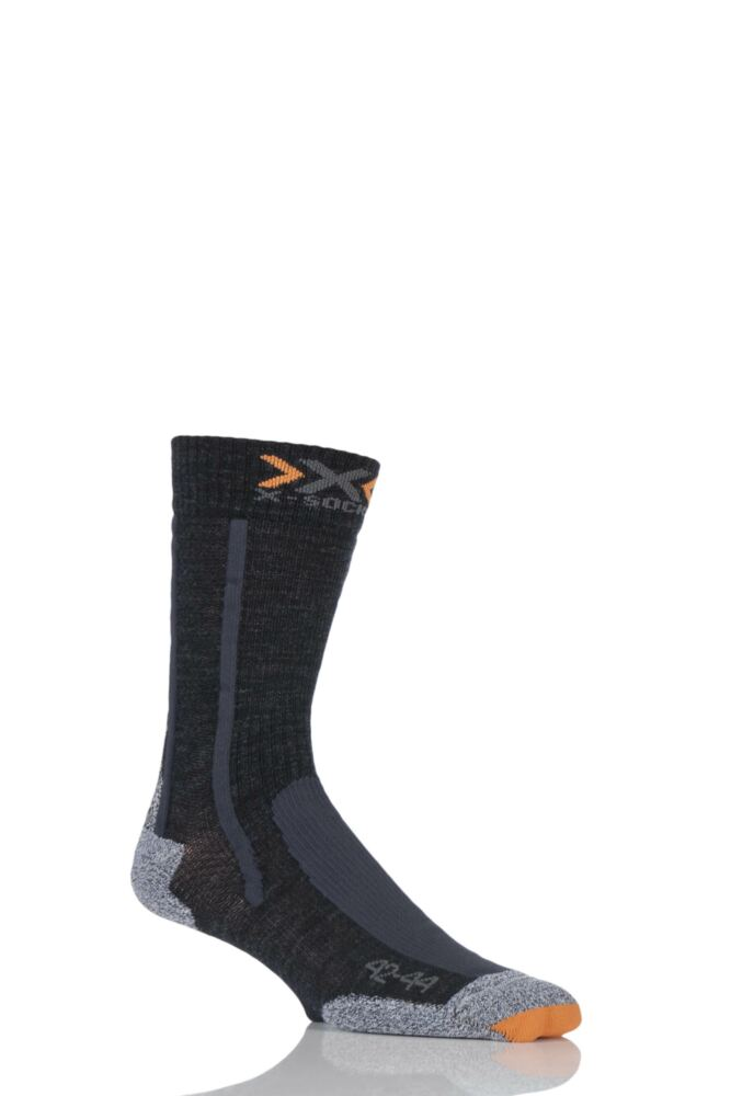 Mens 1 Pair X-Socks Air Step Trekking Socks