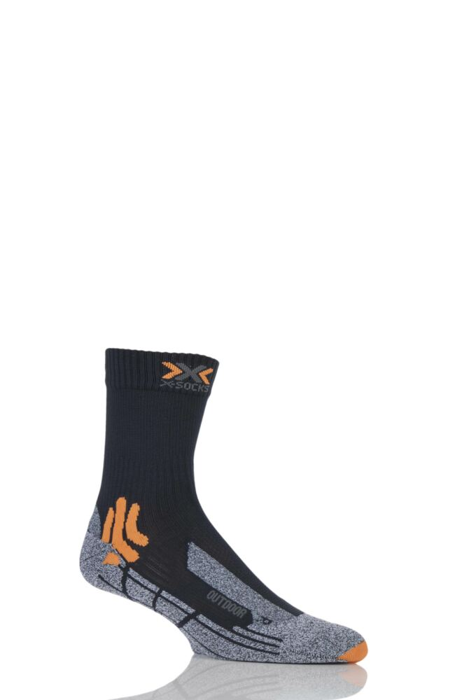 Mens 1 Pair X-Socks Outdoor Heavy Weight Trekking Socks