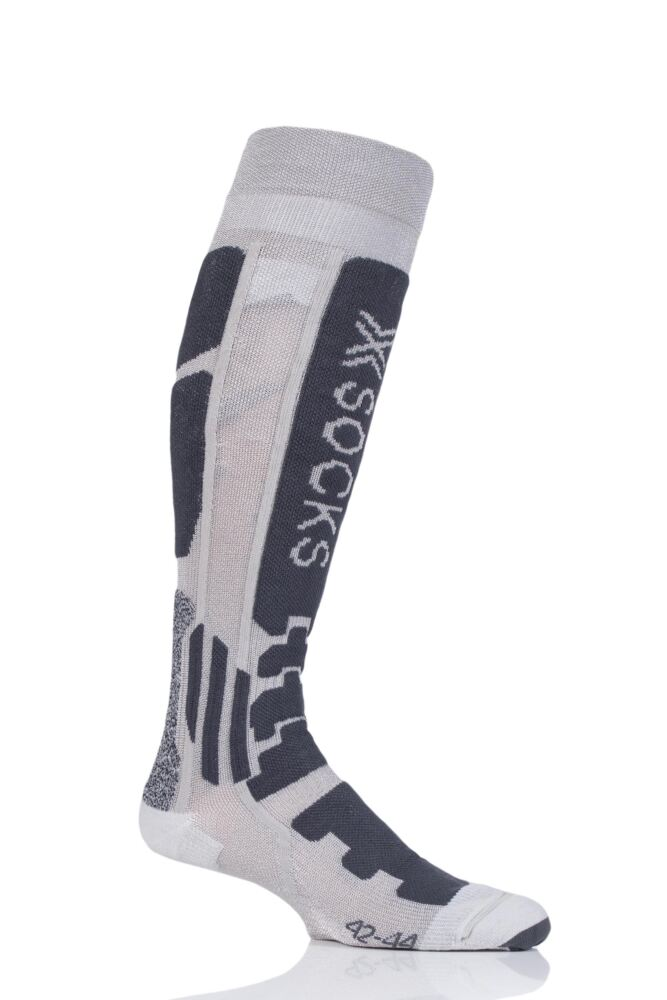 Mens and Ladies 1 Pair X-Socks Ski Radiactor with Xitanit Technology Skiing Socks
