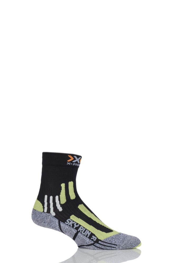Mens 1 Pair X-Socks Sky Run 2.0 Running Socks