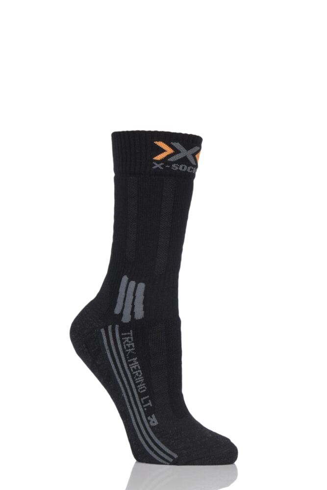 Ladies 1 Pair X-Socks Lightweight Merino Trekking Socks