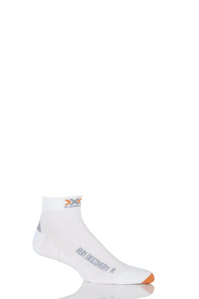 Mens 1 Pair X-Socks Running Discovery Trainer Socks