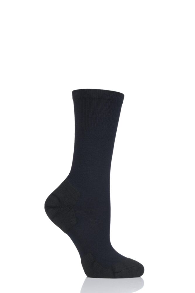 Ladies 1 Pair Thorlos Experia Ultra Light Dress Crew Socks