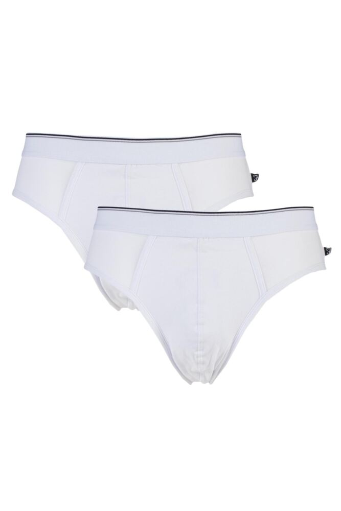 Mens 2 Pack Farah Slip Briefs