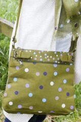 Ladies Bewitched Spots, Spots, Spots Polka Dot Design Messenger Bag 75% OFF