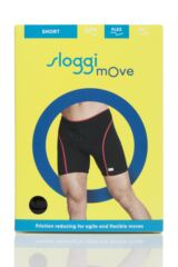 Mens 1 Pack Sloggi mOve FLEX Sports Boxer Shorts Packaging Image