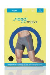 Mens 1 Pack Sloggi mOve FLY Sports Boxer Shorts Packaging Image