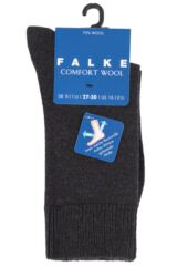 Boys and Girls 1 Pair Falke Comfort Wool Plain Socks Product Shot