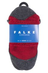 Boys and Girls 1 Pair Falke Cosyshoe Socks Packaging Image