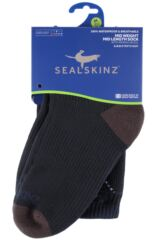 Mens and Ladies 1 Pair SealSkinz 100% Waterproof Mid Weight Mid Length Socks Product Shot