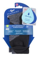 SealSkinz 1 Pair 100% Waterproof Walking Thin Mid Length Socks Packaging Image
