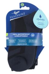 SealSkinz 1 Pair 100% Waterproof Trekking Thick Mid Length Socks Packaging Image