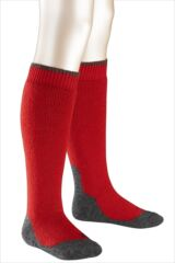 Boys And Girls 1 Pair Falke Active Warm Plus Knee High Socks In 4 Colours