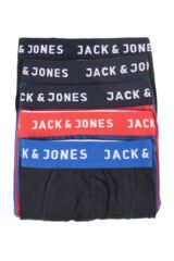 Mens 5 Pack Jack & Jones Jacnew Trunks Packaging Image