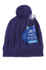 SealSkinz 1 Pack 100% Waterproof Cable Knit Bobble Hat Packaging Image