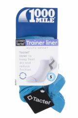 Ladies 1 Pair 1000 Mile Tactel Ultimate Technical Racing Trainer Socklet Product Shot