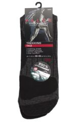 Mens 1 Pair Falke TK2 Medium Volume Ergonomic Cushioned Trekking Socks Packaging Image