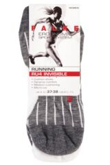 Ladies 1 Pair Falke Light Volume Ergonomic Cushioned Invisible Running Socks Packaging Image