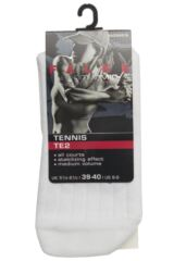 Ladies 1 Pair Falke TE2 Short Medium Volume Ergonomic Cushioned Short Tennis Socks Packaging Image