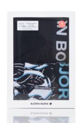 Mens 2 Pack Bjorn Borg Tropical Boxer Shorts Packaging Image