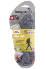Mens 1 Pair Bridgedale Ultra Light Trail Enduro Wool Socks Packaging Image