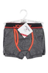 Mens 1 Pair Jockey USA Originals Short Fly Trunks with Y-Front Opening Packaging Image