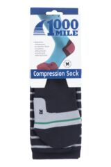 Mens and Ladies 1 Pair 1000 Mile Compression Socks Packaging Image