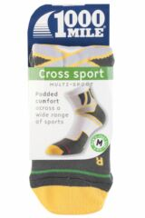 Mens 1 Pair 1000 Mile Cross Sport Socks with Arch Support Product Shot