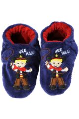 Boys 1 Pair Totes Tots Cowboy Slippers With Grip