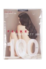 Ladies 1 Pair Falke Pure Matt 100 Tights Packaging Image