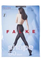 Ladies 1 Pair Falke Shaping 50 Denier Semi-Opaque Panty Tights Packaging Image