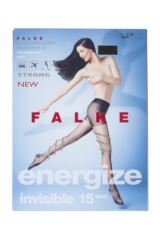 Ladies 1 Pair Falke 15 Denier Leg Energizing Compression Tights Packaging Image