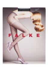 Ladies 1 Pair Falke Moon Circle Weave Tights with Mock Knickers Product Shot