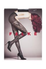 Ladies 1 Pair Falke Antique Floral Tights Product Shot