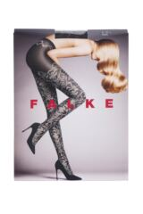 Ladies 1 Pair Falke Toile De Jouy Opaque Tights Packaging Image