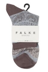 Ladies 1 Pair Falke Carnival Elephant Socks Product Shot