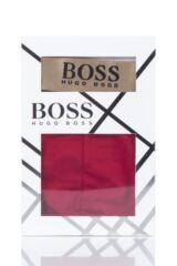 Mens 1 Pack BOSS Plain Cotton Celebration Gift Boxed Boxer Shorts Packaging Image