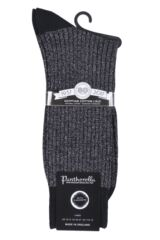 Mens 1 Pair Pantherella Scala Cashmere Blend Sparkle Ribbed Socks Packaging Image