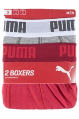 Mens 2 Pair Puma Basic Boxer Shorts 25% OFF This Style Packaging Image
