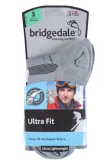 Mens and Ladies 1 Pair Bridgedale Ultra Fit Ski Socks Packaging Image