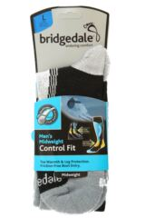 Mens 1 Pair Bridgedale Midweight Control Fit Winter Sports Socks Packaging Image