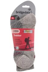 Mens 1 Pair Bridgedale Comfort Trekker Socks For All Day Trekking and Hiking Packaging Image