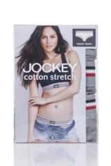 Ladies 3 Pack Jockey Hipster Knickers Packaging Image